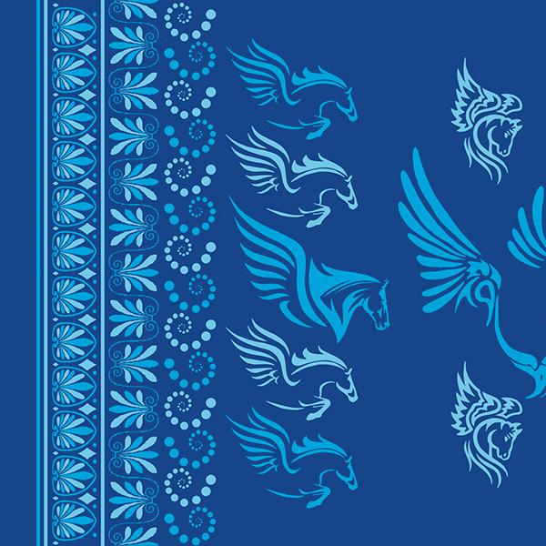 Blue Cyan